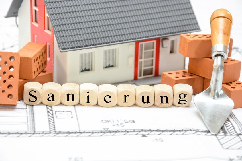 Energetische Sanierung von Gebäuden