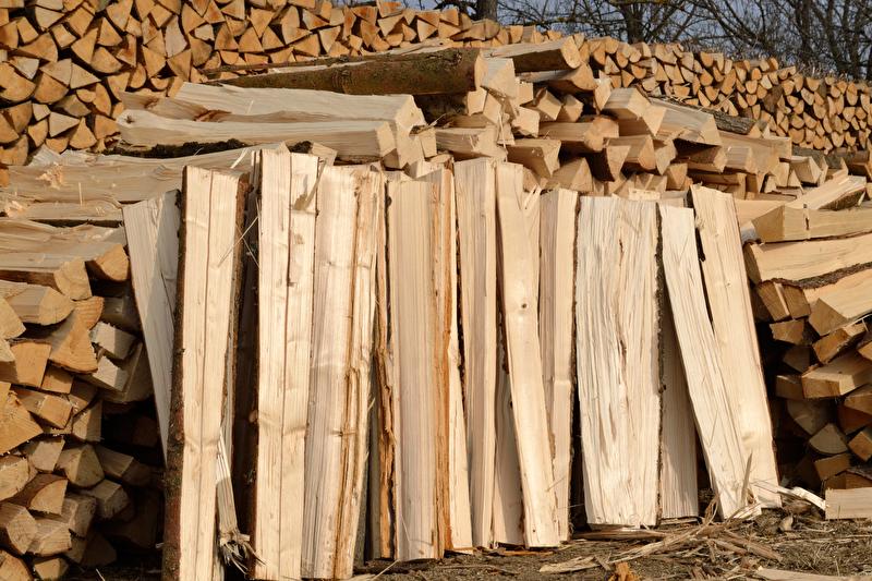 Scheitholz beim Brennholzverbrauch Spitzenreiter in Deutschland